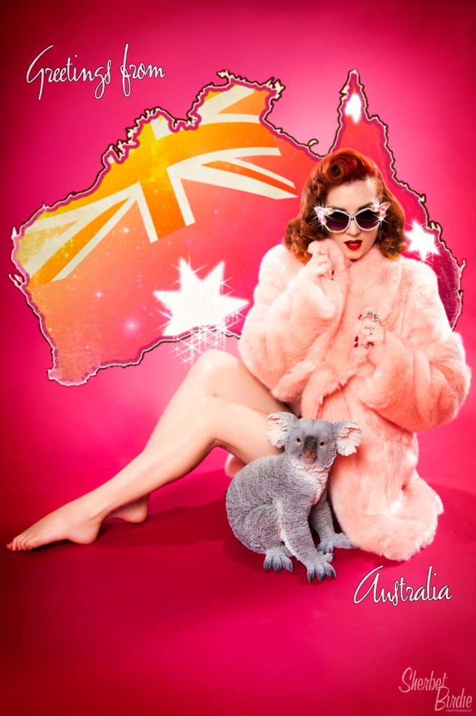 Cherry Dollface - Sherbet Birdie Vintage & Pin-up Photography