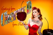 Cherry Dollface by Sherbet Birdie PInup Photography