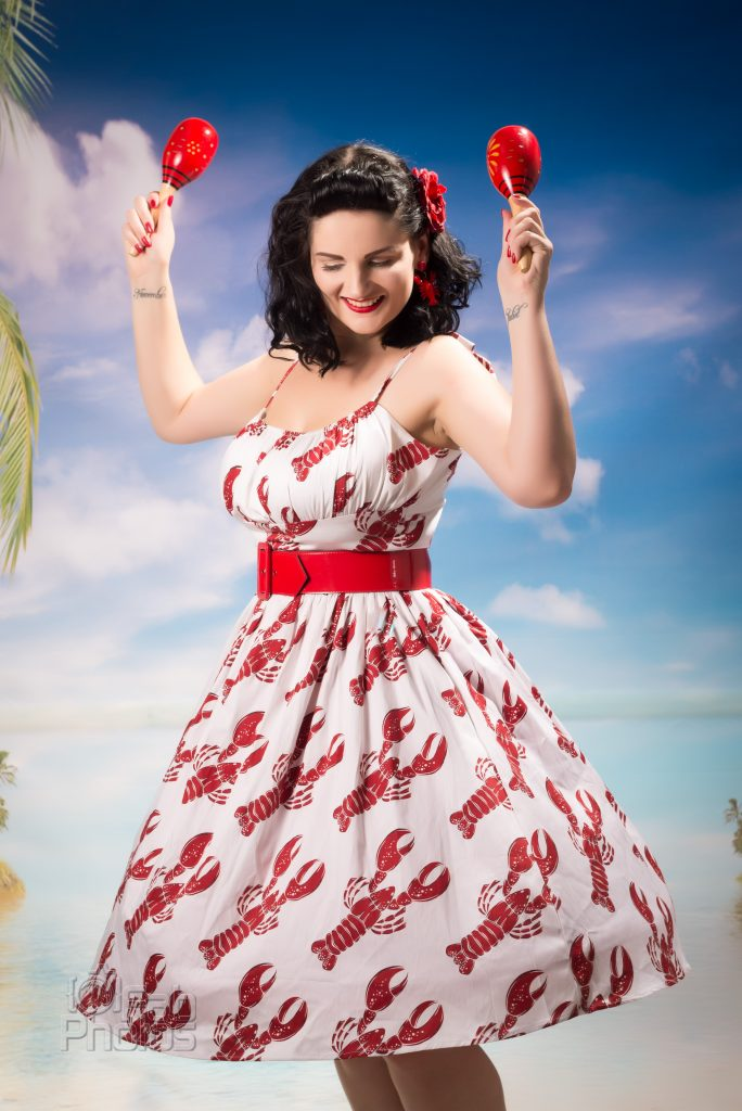 Pinup vintage Retro Betty