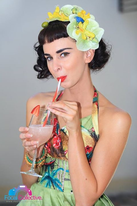 pinup girl vintage tiki retro betty