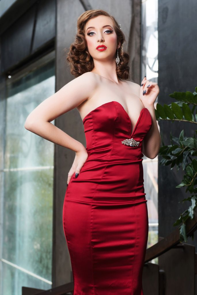 Retro Betty pinup of the month vintage