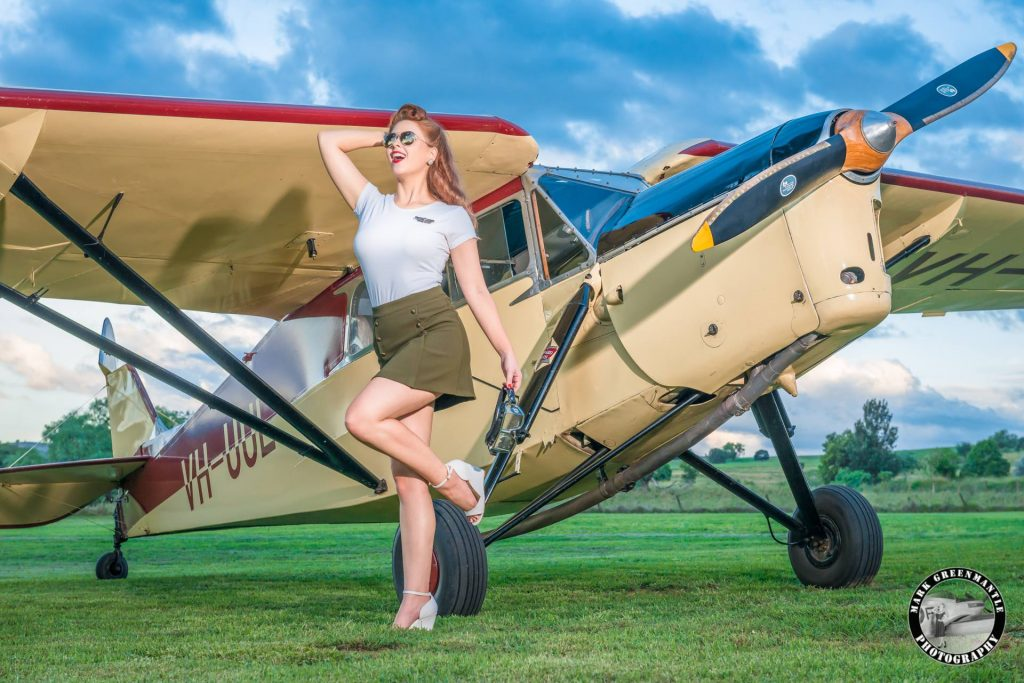 Pinup Girl 1940s Vintage War Bird