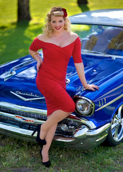Miss Anna D'Amour pin-up