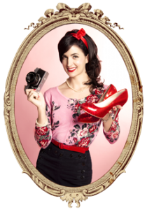 Sherbet Birdie Vintage and Pin-up Photography