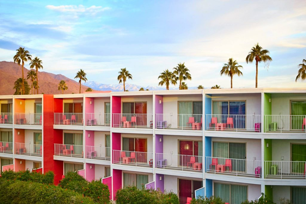 Top 5 Mid Century places in Palm Springs
