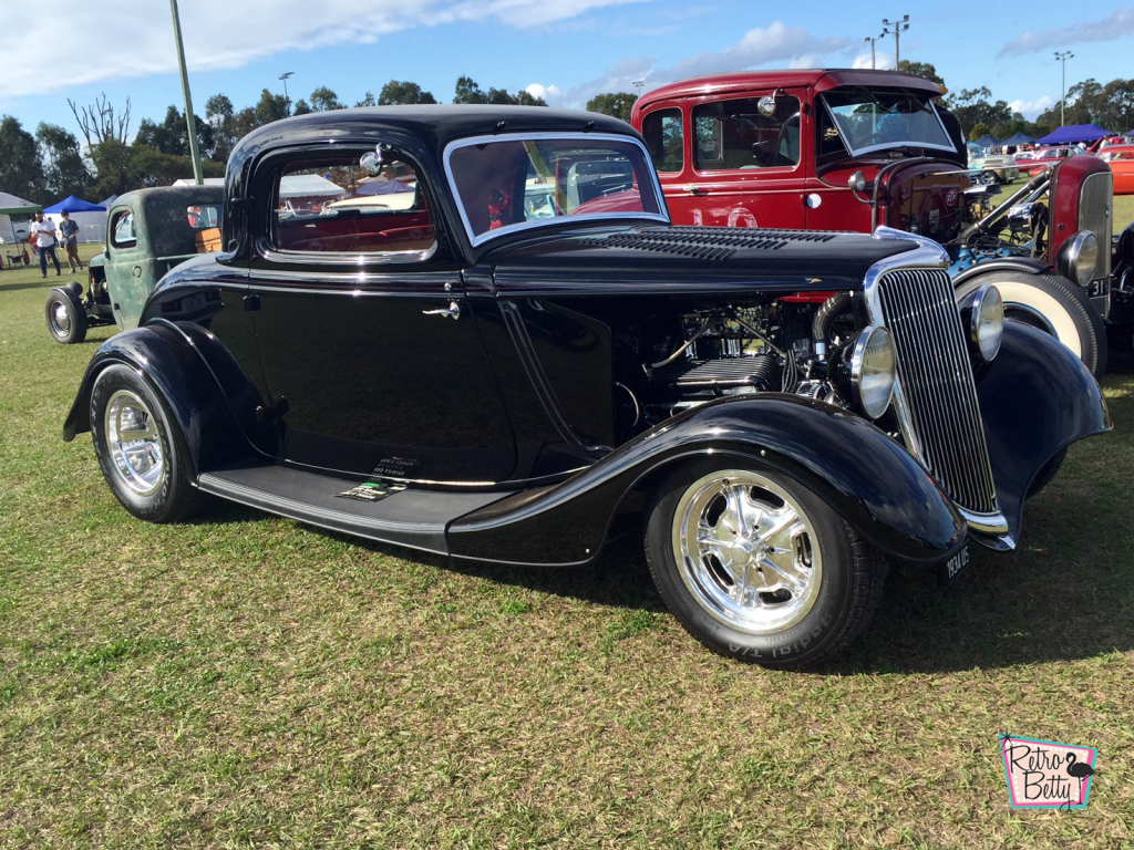 Greazefest 2016 1934 Ford Coupe hot rod