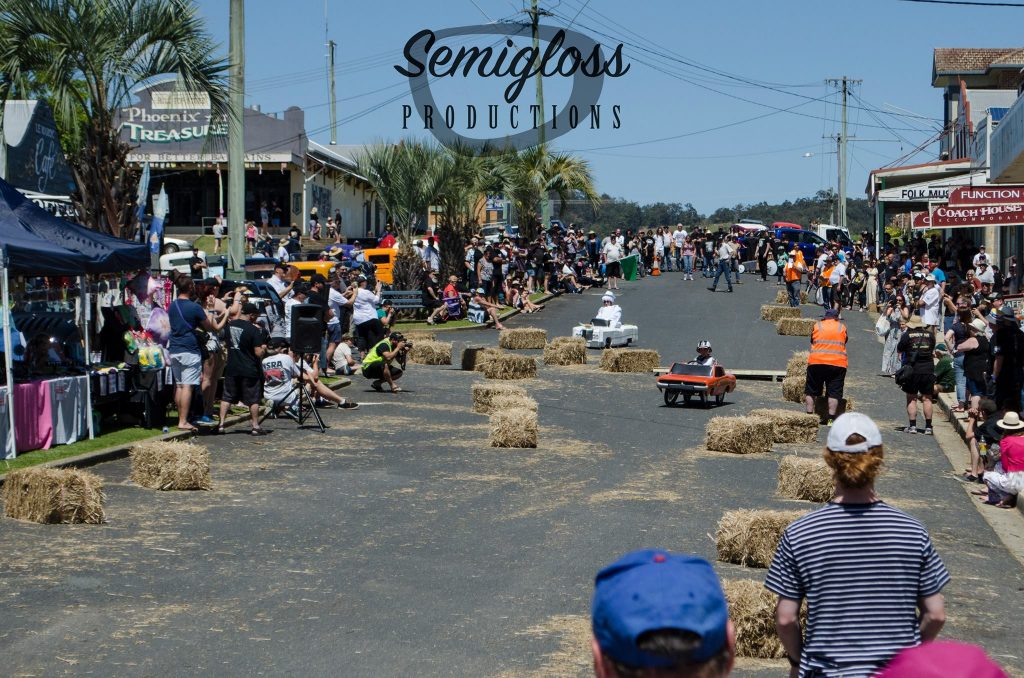 Valla Hot Rod Run 2016 billy cart derby