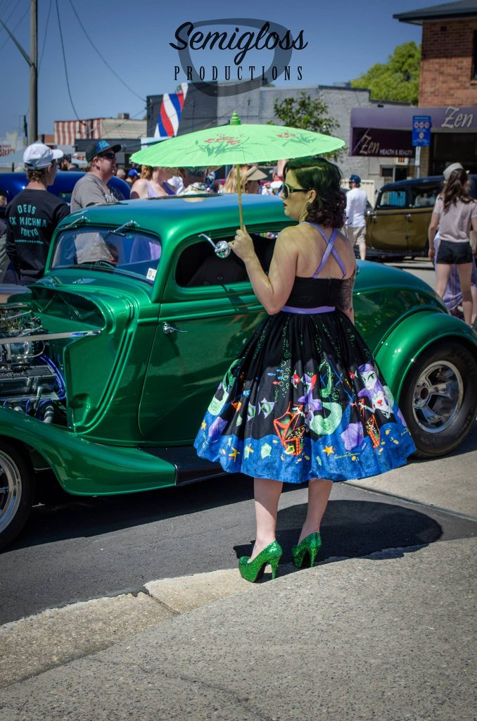 Pinup girl Valla Hot Rod Run 2016