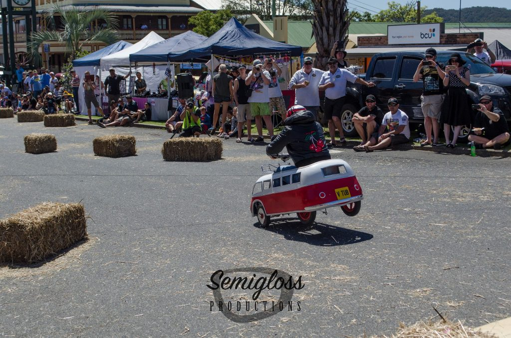 Valla Hot Rod Run billy cart derby