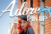 Adore Pin Up Cherry Dollface