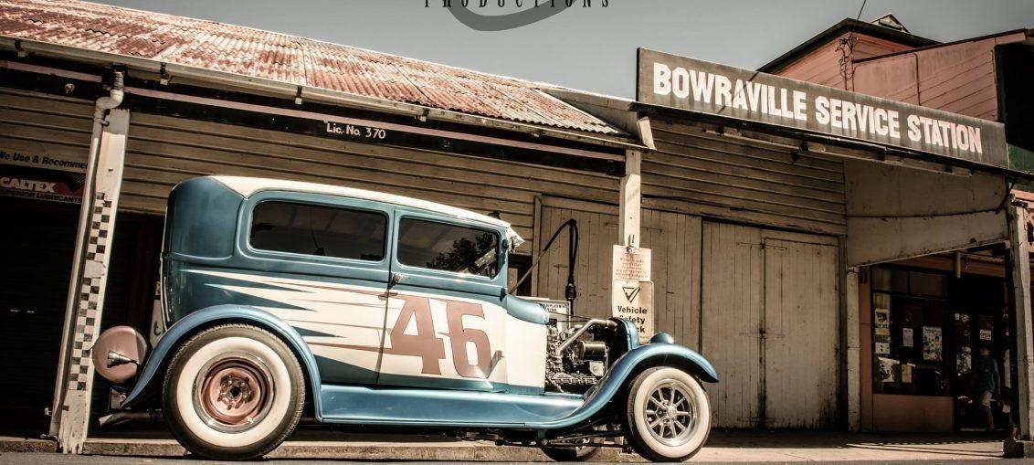 Valla Hot Rod run 2017 1932 Ford tudor