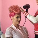 Miss Rockabilly Ruby vintage hair Retro Betty